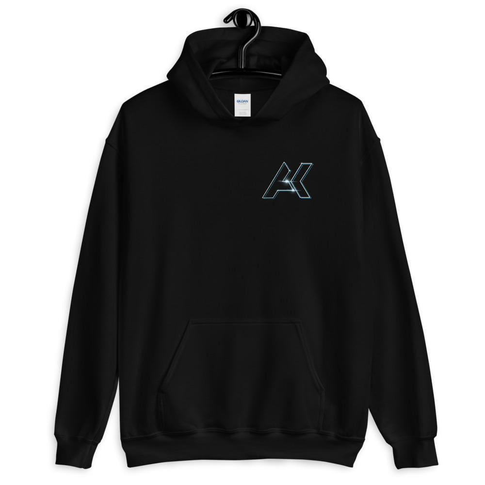 Alex Kinter Dallas Dubstep AK Logo Unisex EDM Hoodie - Black / S - Hoodies