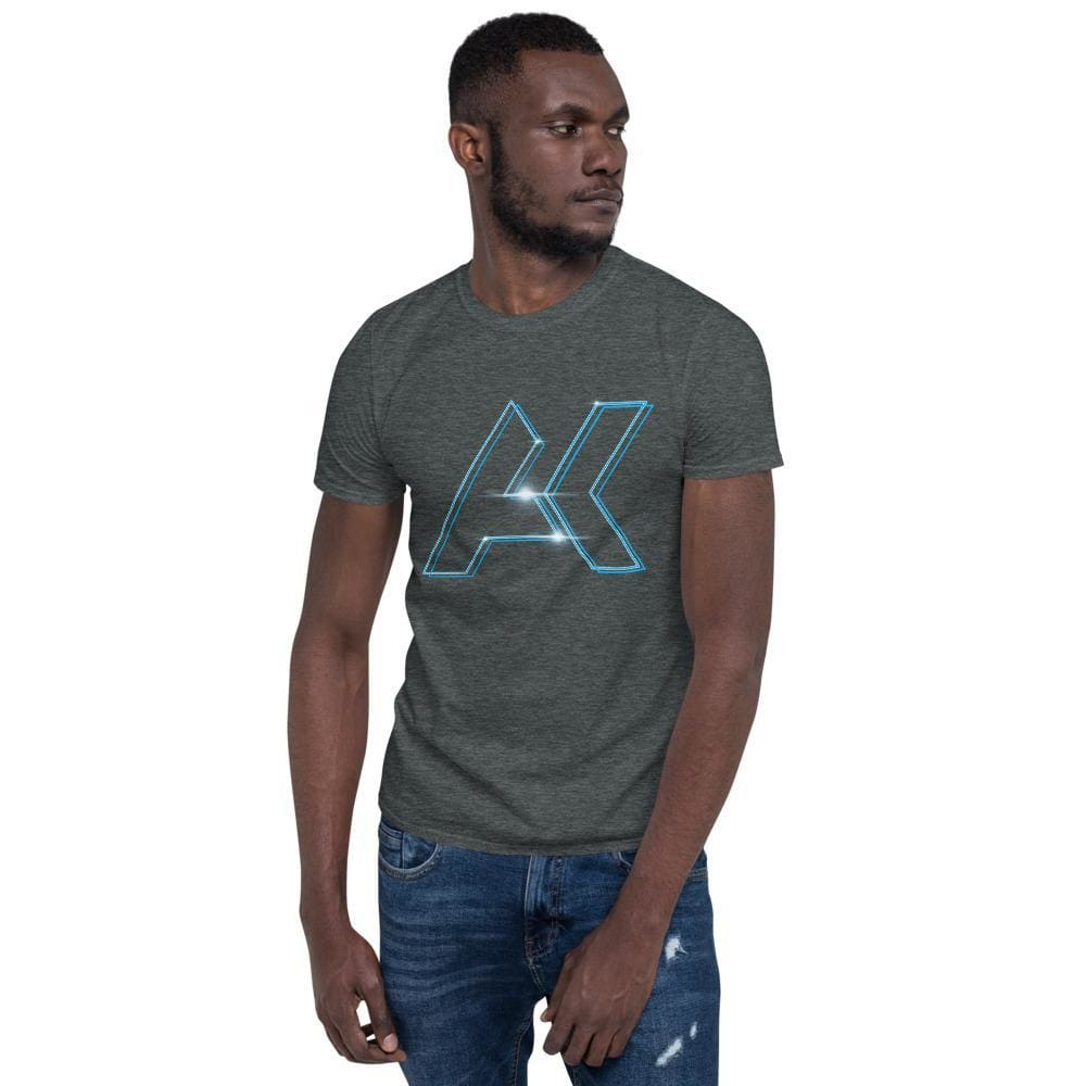 Alex Kinter Graphic Short-Sleeve Dubstep Unisex EDM T-Shirt - Dark Heather / S - Shirts