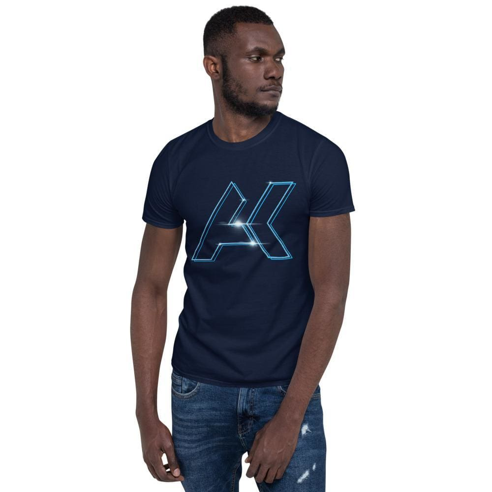 Alex Kinter Graphic Short-Sleeve Dubstep Unisex EDM T-Shirt - Navy / S - Shirts