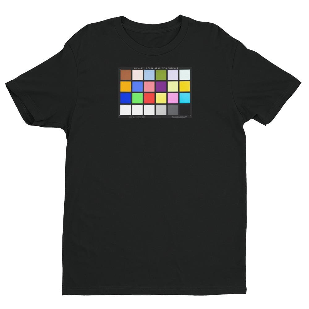 Color Chart - Short Sleeve T-shirt - Black / XS - Shirts