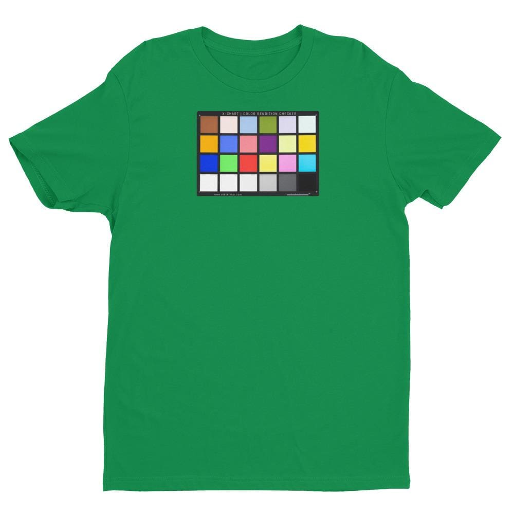 Color Chart - Short Sleeve T-shirt - Kelly Green / XS - Shirts