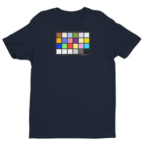 Color Chart - Short Sleeve T-shirt - Midnight Navy / XS - Shirts