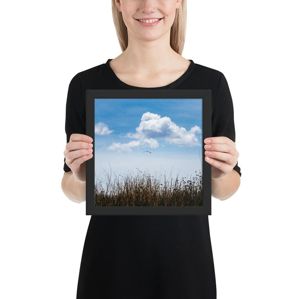 Float - Framed Fine Art Print | 10- 36 Sizes - Black / 10×10 - Prints
