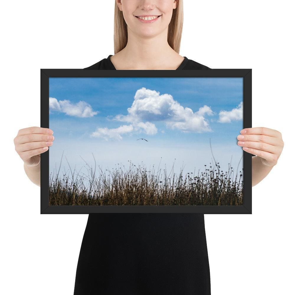 Float - Framed Fine Art Print | 10- 36 Sizes - Black / 12×18 - Prints