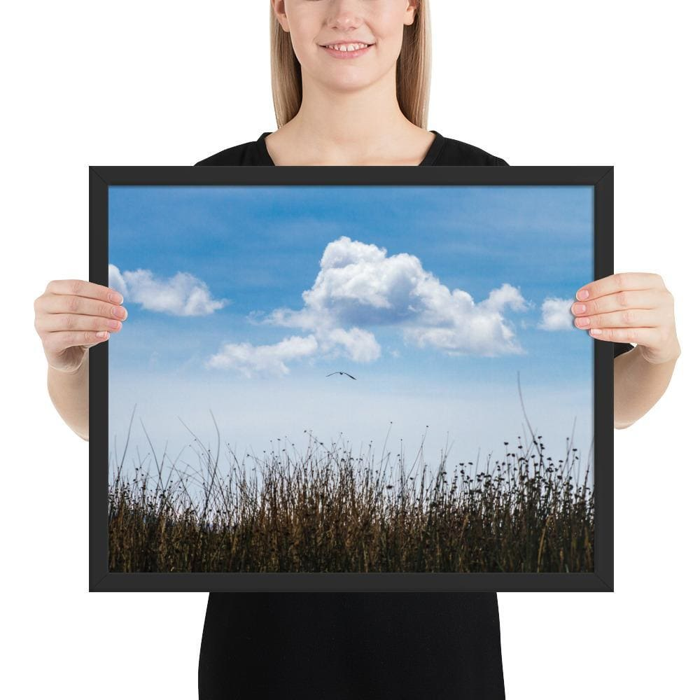 Float - Framed Fine Art Print | 10- 36 Sizes - Black / 16×20 - Prints