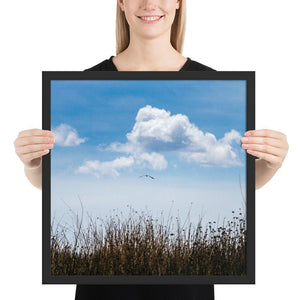 Float - Framed Fine Art Print | 10- 36 Sizes - Black / 18×18 - Prints