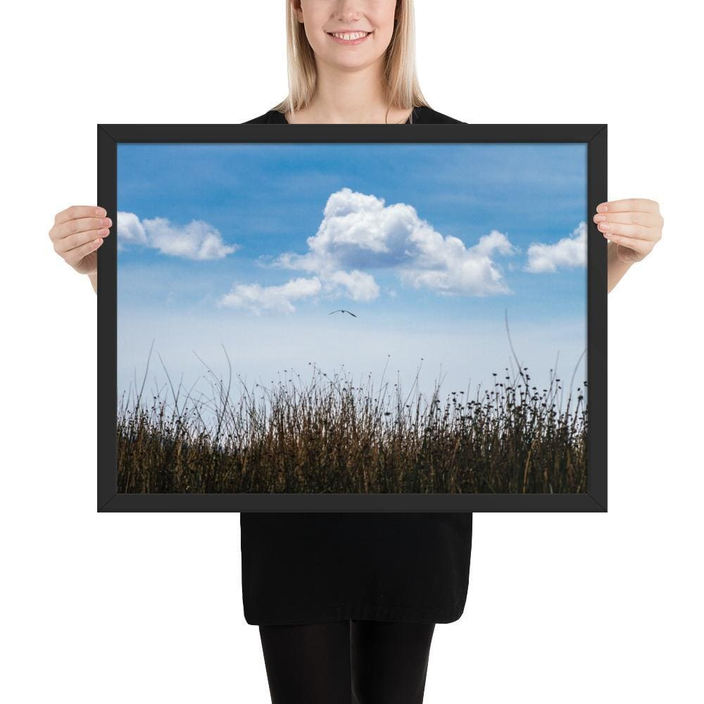 Float - Framed Fine Art Print | 10- 36 Sizes - Black / 18×24 - Prints