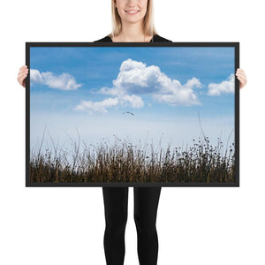 Float - Framed Fine Art Print | 10- 36 Sizes - Black / 24×36 - Prints