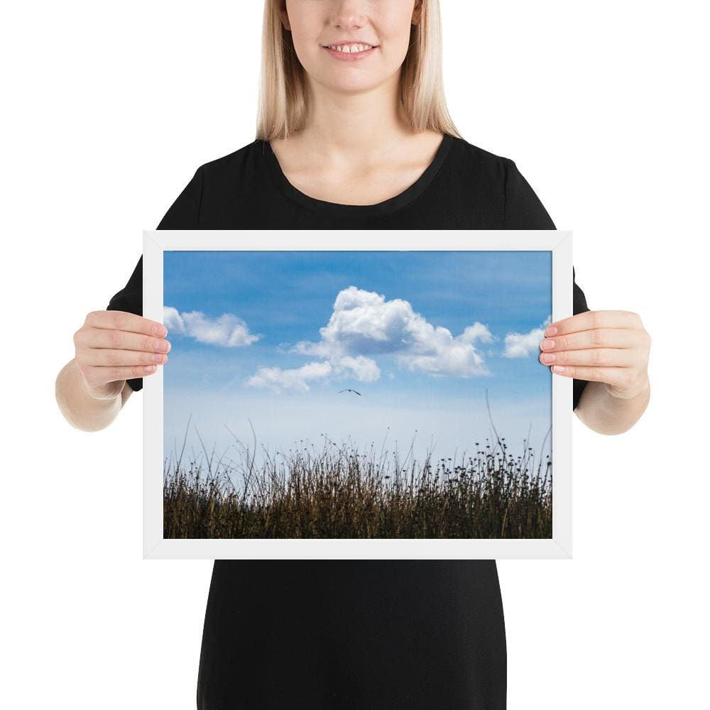 Float - Framed Fine Art Print | 10- 36 Sizes - White / 12×16 - Prints