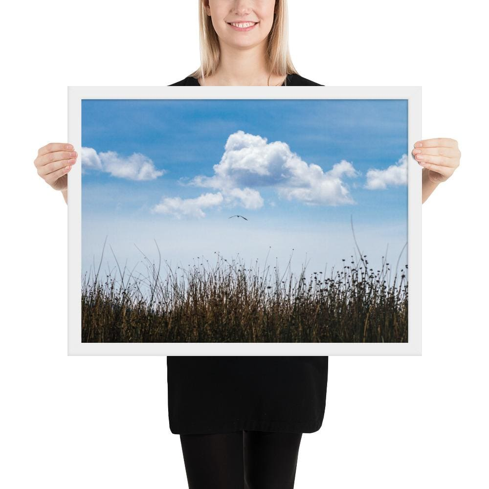 Float - Framed Fine Art Print | 10- 36 Sizes - White / 18×24 - Prints