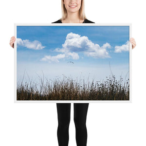 Float - Framed Fine Art Print | 10- 36 Sizes - White / 24×36 - Prints