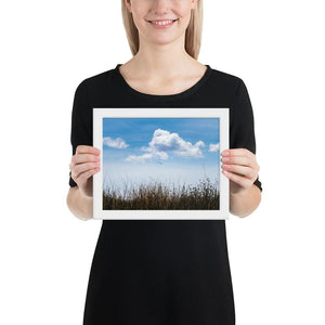 Float - Framed Fine Art Print | 10- 36 Sizes - White / 8×10 - Prints