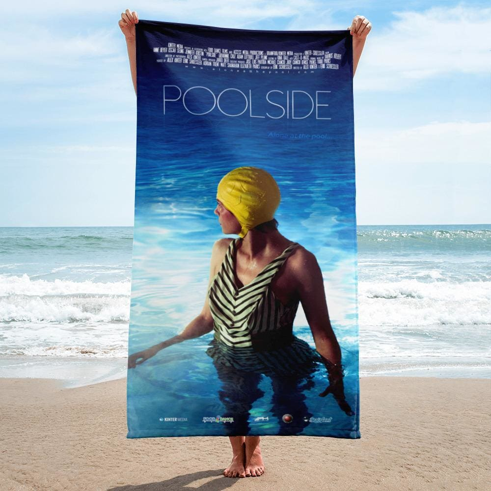 Poolside - Art House Film Beach Towel