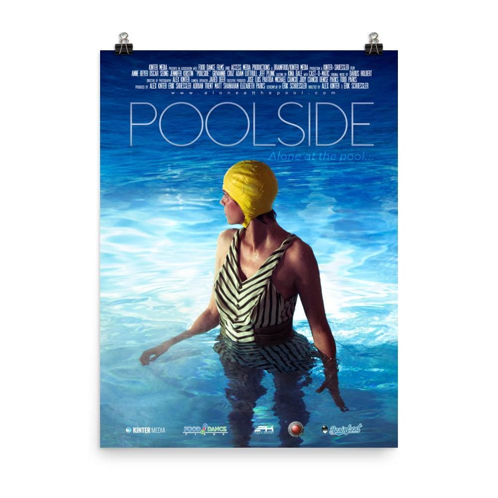 Poolside - Premium Luster Short Film Poster 18x24 - Prints