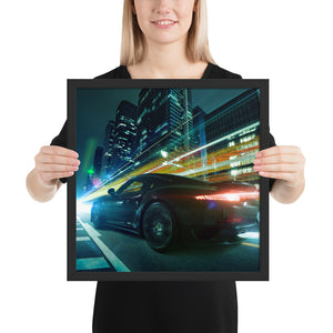 Porsche 911 Turbo - Framed Fine Art Print