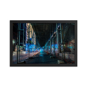 Trasition to Greatness - Framed Fine Art Print | 10 - 36 Sizes - Black / 12×18