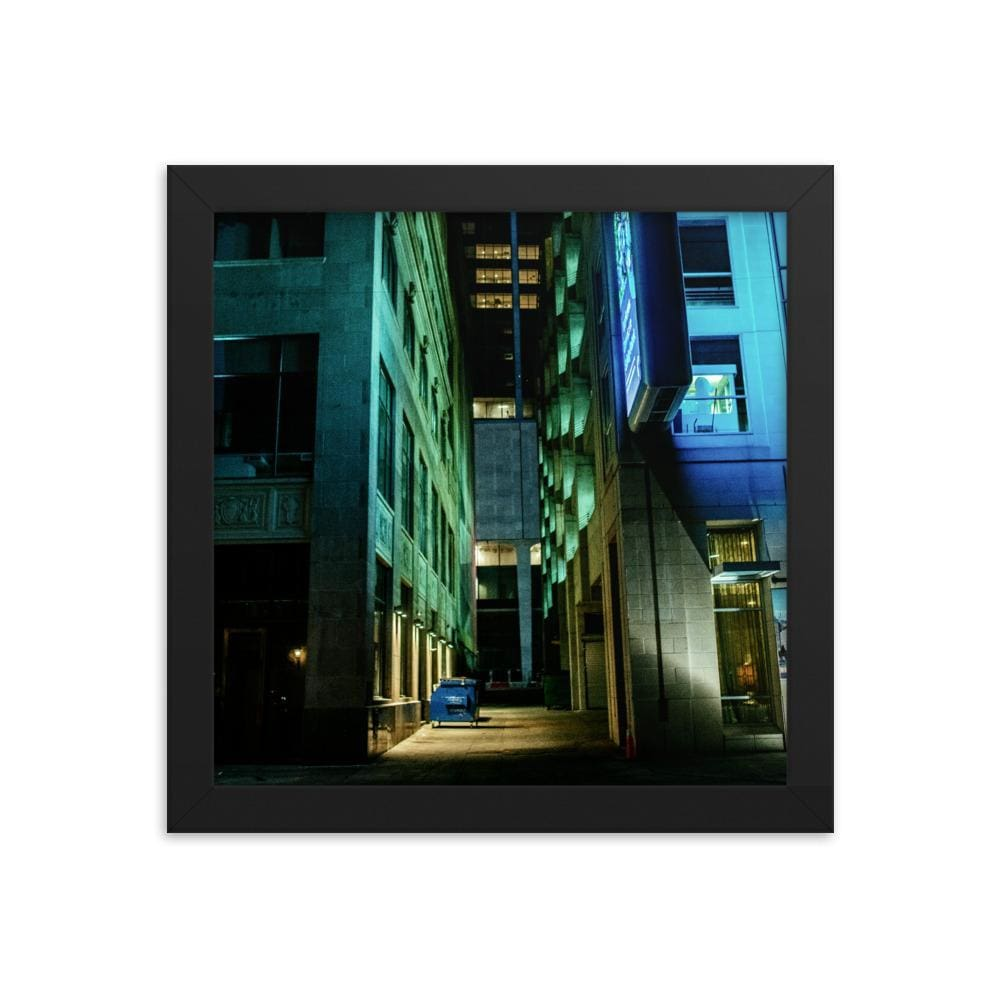 Urban Heights - Framed Fine Art Print | 10 - 36 Sizes - Black / 10×10