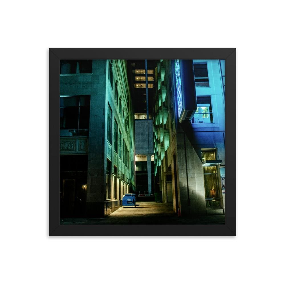 Urban Heights - Framed Fine Art Print | 10 - 36 Sizes - Black / 12×12