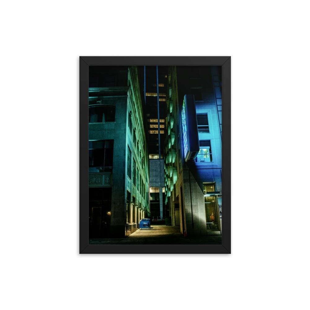 Urban Heights - Framed Fine Art Print | 10 - 36 Sizes - Black / 12×16
