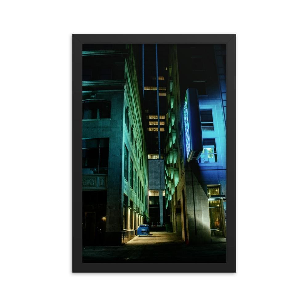 Urban Heights - Framed Fine Art Print | 10 - 36 Sizes - Black / 12×18