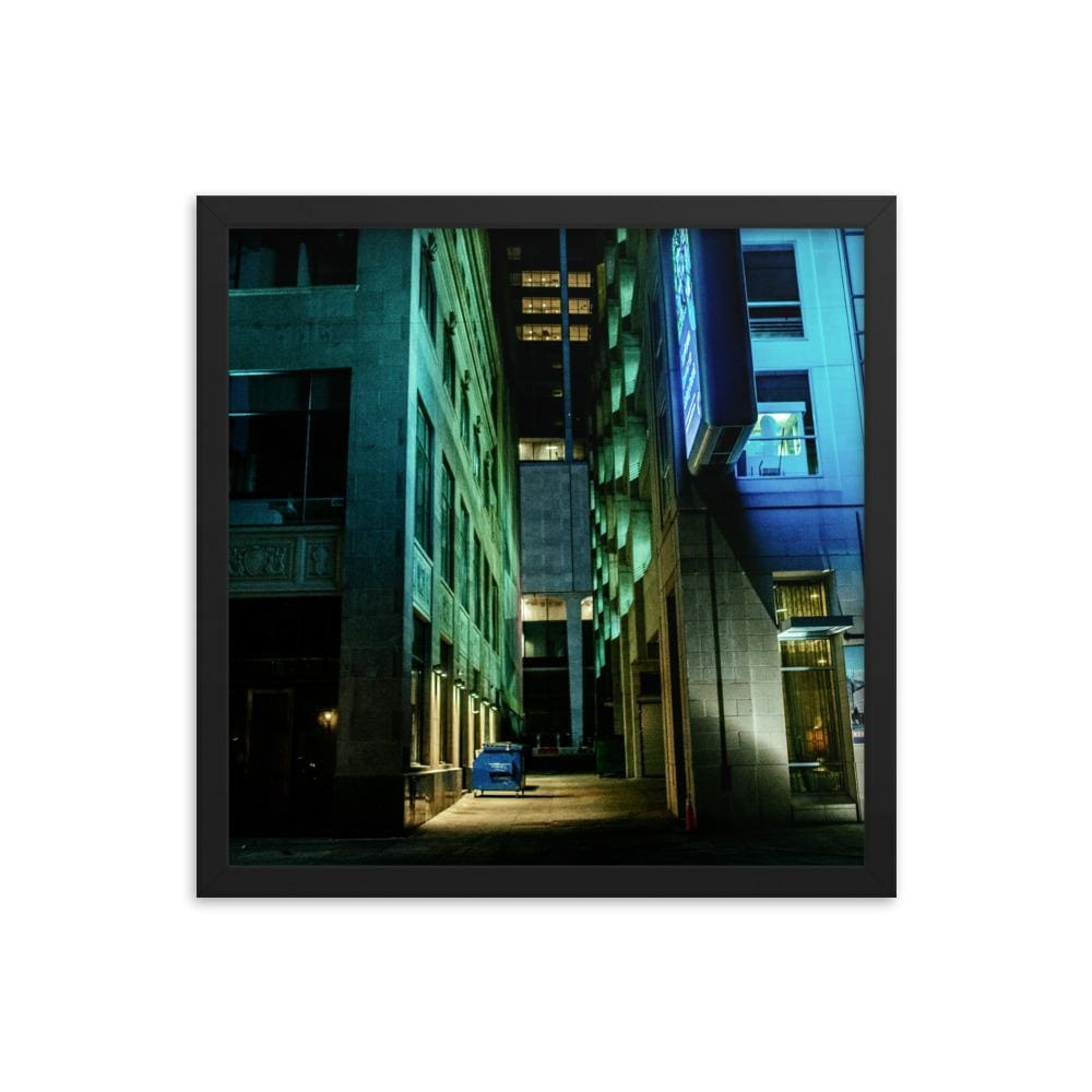 Urban Heights - Framed Fine Art Print | 10 - 36 Sizes - Black / 16×16