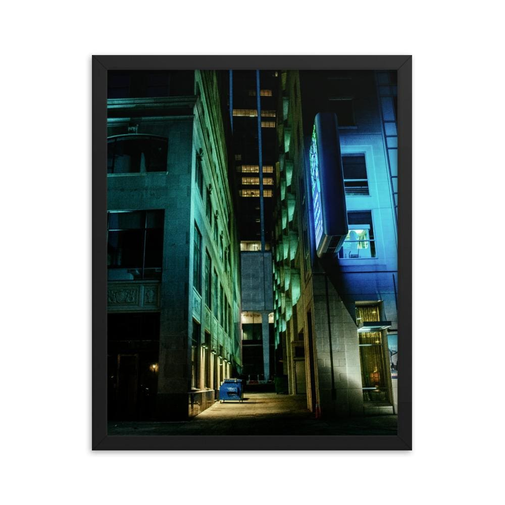 Urban Heights - Framed Fine Art Print | 10 - 36 Sizes - Black / 16×20