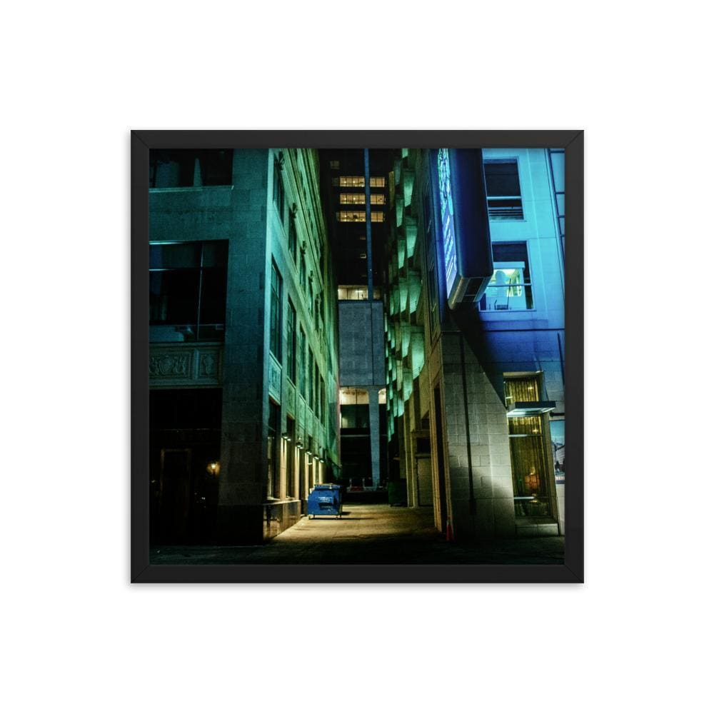Urban Heights - Framed Fine Art Print | 10 - 36 Sizes - Black / 18×18