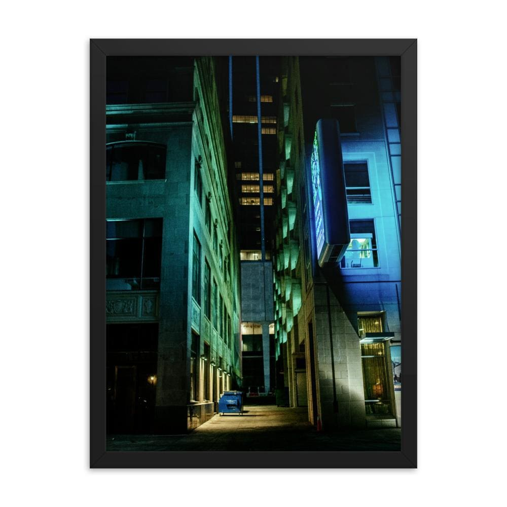 Urban Heights - Framed Fine Art Print | 10 - 36 Sizes - Black / 18×24