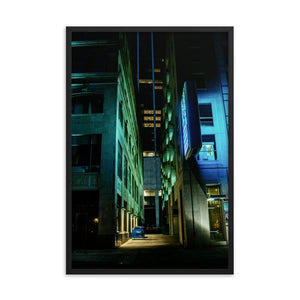Urban Heights - Framed Fine Art Print | 10 - 36 Sizes - Black / 24×36