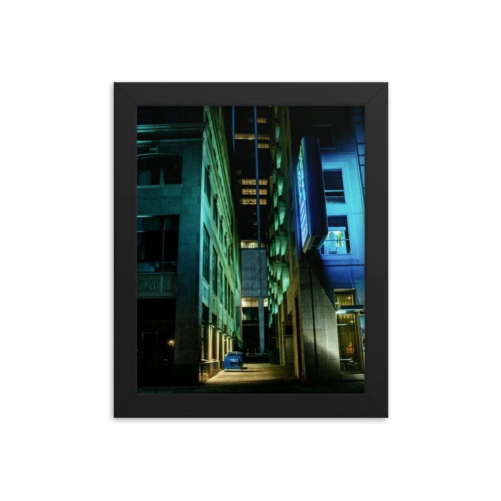 Urban Heights - Framed Fine Art Print | 10 - 36 Sizes - Black / 8×10