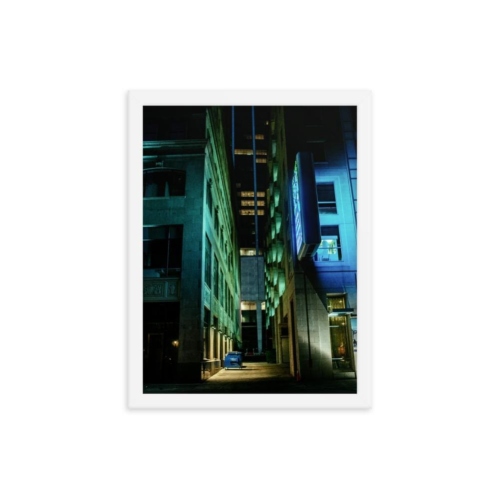 Urban Heights - Framed Fine Art Print | 10 - 36 Sizes - White / 12×16