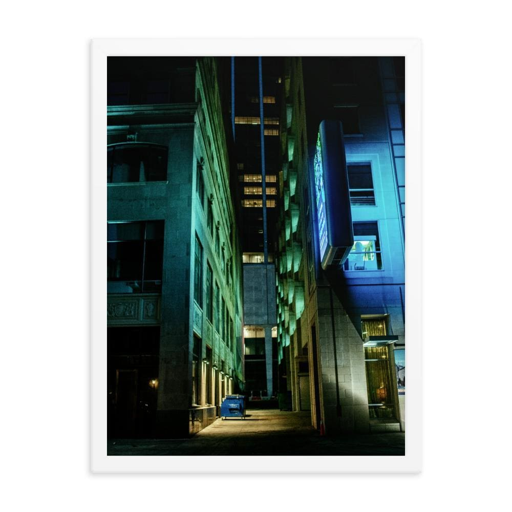 Urban Heights - Framed Fine Art Print | 10 - 36 Sizes - White / 18×24