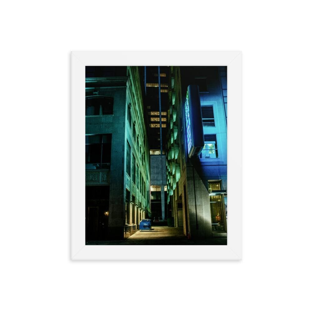 Urban Heights - Framed Fine Art Print | 10 - 36 Sizes - White / 8×10
