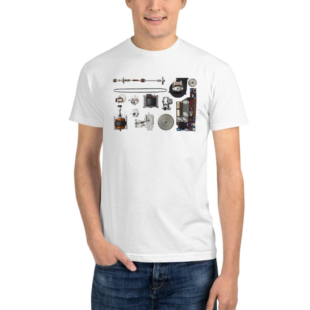 Vintage Projector - Eco Friendly Sustainable T-Shirt - White / S - Shirts