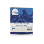 Open Farm -12.5 oz  Chicken & Salmon Rustic Stew Rustic Stew Real Food for Dogs