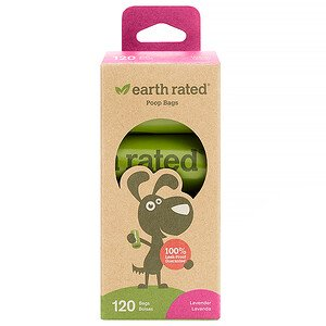 Earth Rated Lavender-Scented Dog Waste Bags