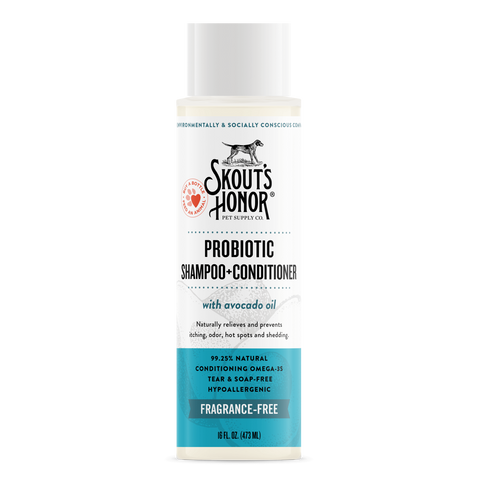 Skout's Honor - Probiotic Shampoo + Conditioner [Fragrance Free]