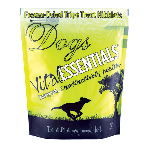 Vital Essentials 1 lb. Dog Freeze Dried Mini Nibs [Green Tripe]