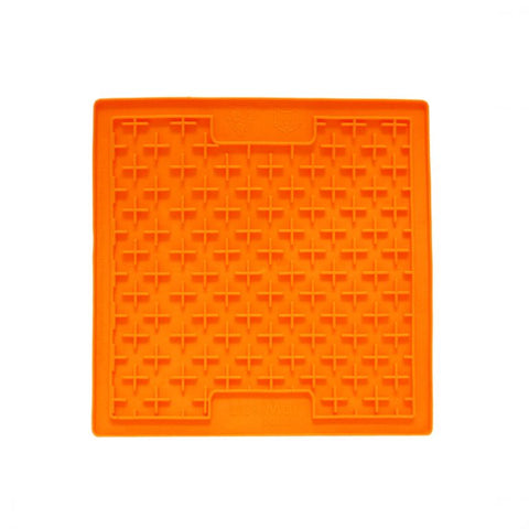 HyperPet small orange crosses lickmat