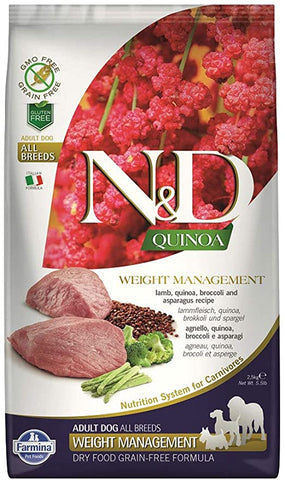 Copy of Farmina 15.4 LB Dog Quinoa Weight MGMT Lamb