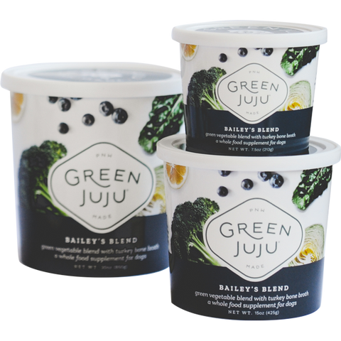 Green Juju - Bailey's Blend with Turkey Bone Broth