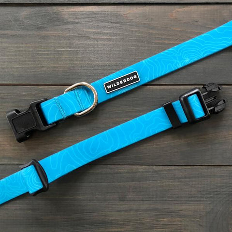 Wilderdog Wtrprf Collar, Teal [large]