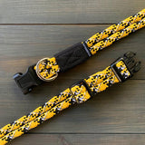Wilderdog - Climbing Rope Collars [Gold Reflective]