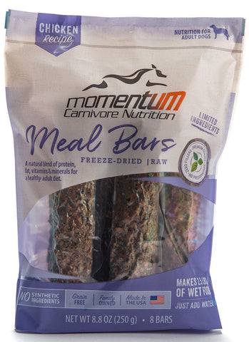 Momentum Freeze Dried Meal Bars [chicken]