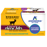 Answers Rewards 8 oz Raw Goat Cheese with Organic Cranberries Treat for Dogs & Cats
