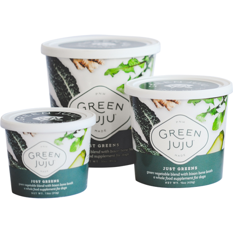 Green Juju - Just Greens w/ bison bone broth