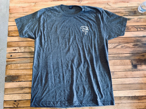 Heather Graphite Tee