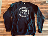 Sweatshirt - Black Crew Neck