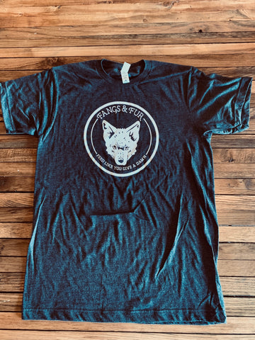 NEW! Yote Head Fangs & Fur T-Shirts