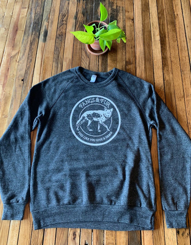 Sweatshirt - Heather Crew Neck